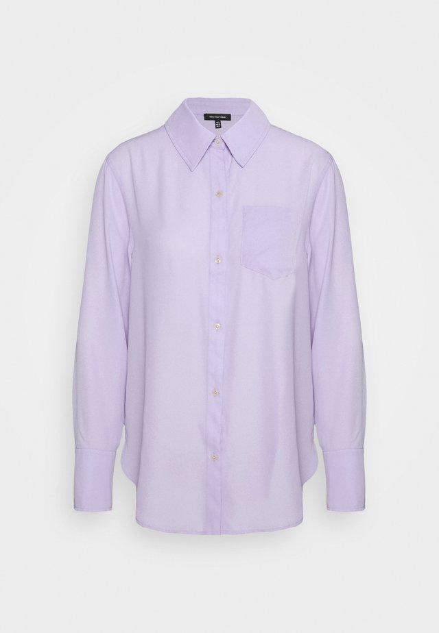 OVERSIZE SHIRT - Overhemdblouse - lavender