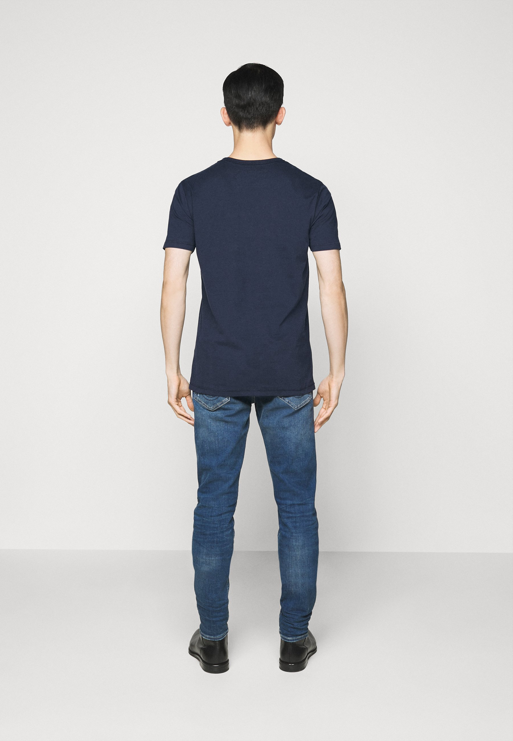 True Religion CORE LOGO TEE - Print T-shirt - navy jerTn