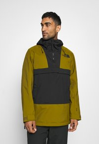 The North Face - SILVANI ANORAK - Ski jacket - green/black - 0