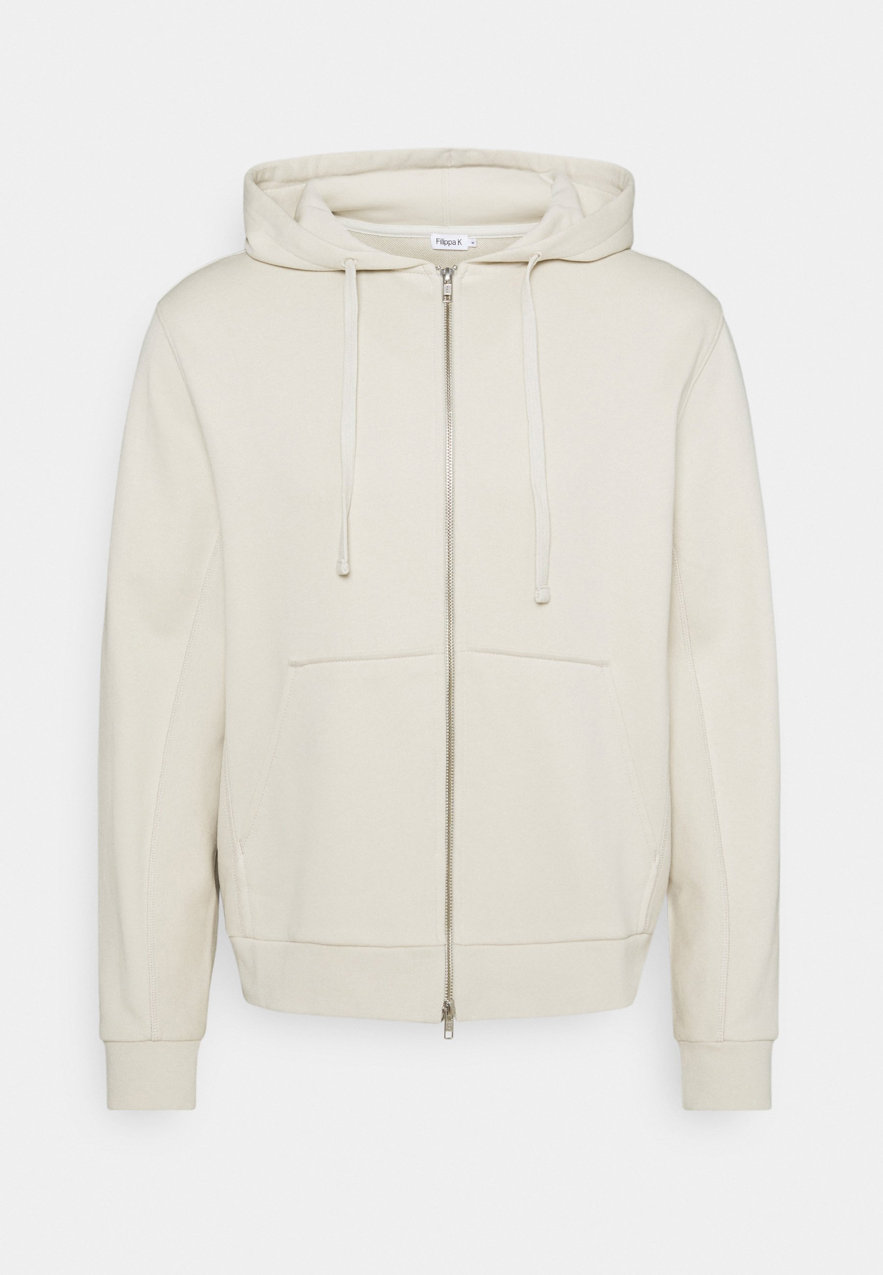 Men ALDOUS ZIP HOODIE - Zip-up sweatshirt - vanilla