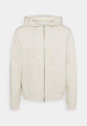 ALDOUS ZIP HOODIE - Zip-up hoodie - vanilla