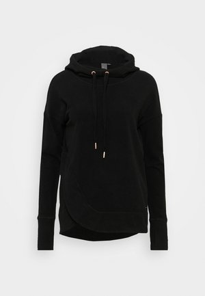 ESCAPE LUXE HOODY - Fleece jumper - black