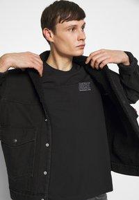Diesel - JAKE - T-shirt con stampa - black - 3