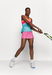 ASICS - TENNIS TANK - Sports shirt - techno cyan - 4