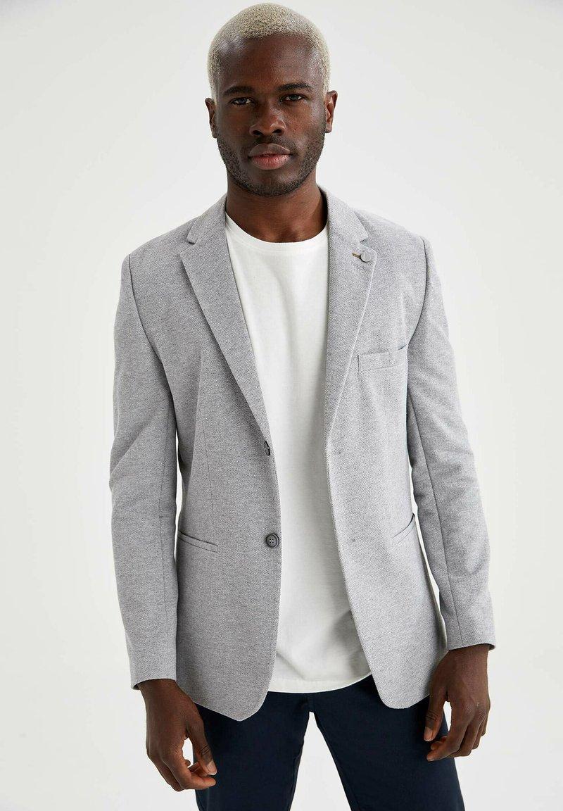 DeFacto - Blazer jacket - grey