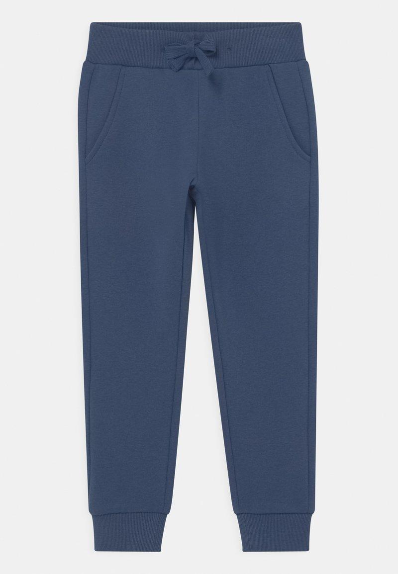Lindex - MINI  - Tracksuit bottoms - dark dusty blue
