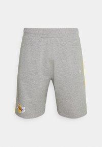 New Era - LOS ANGELES LAKERS NBA SIDE PANEL SHORT - Club wear - grey - 4