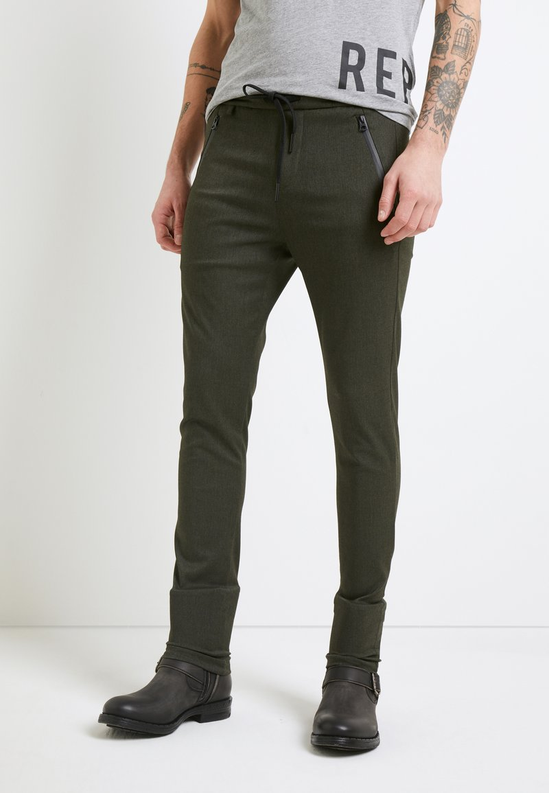 Replay - Trousers - black