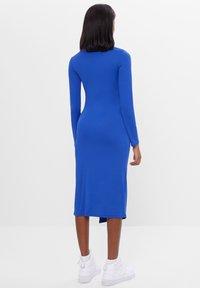 Bershka - Pouzdrové šaty - blue - 2