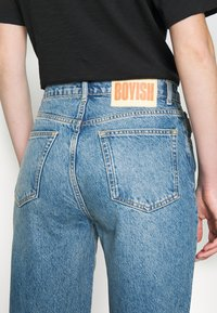 Boyish - THE ZIGGY HIGH RISE - Relaxed fit jeans - dark blue - 8