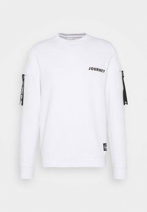 CADE - Sweatshirt - white