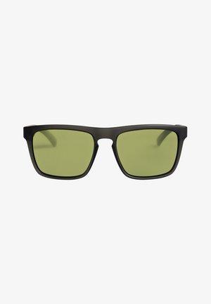 THE FERRIS - Lunettes de soleil - matte crystal smoke/green