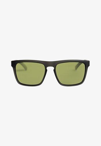 THE FERRIS - Sunglasses - matte crystal smoke/green