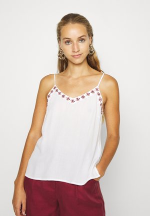 VMNEWHOUSTON SINGLET - Top - snow white/multi