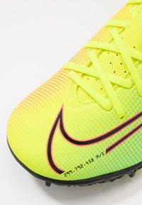 Nike Performance - MERCURIAL JR VAPOR 13 ACADEMY TF UNISEX - Astro turf trainers - lemon /black/aurora green - 2