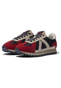 ASFVLT - GATE GAT005 - SNEAKER LOW - Trainers - navy tan red - 1