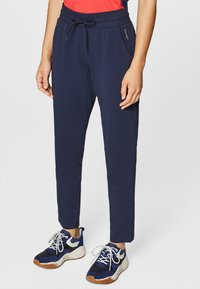 Esprit Sports - Tracksuit bottoms - navy - 0