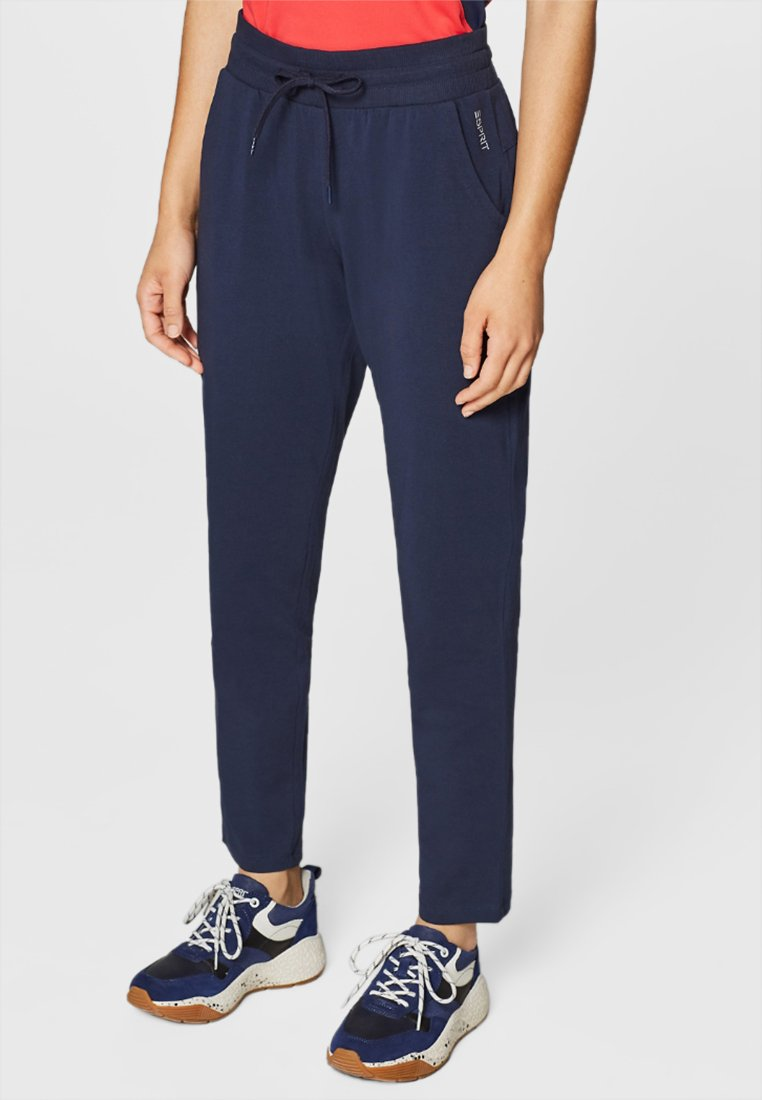 Esprit Sports - Tracksuit bottoms - navy