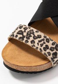 Copenhagen Shoes - STACIA LEOPARD - Sandalias con plataforma - brown - 2