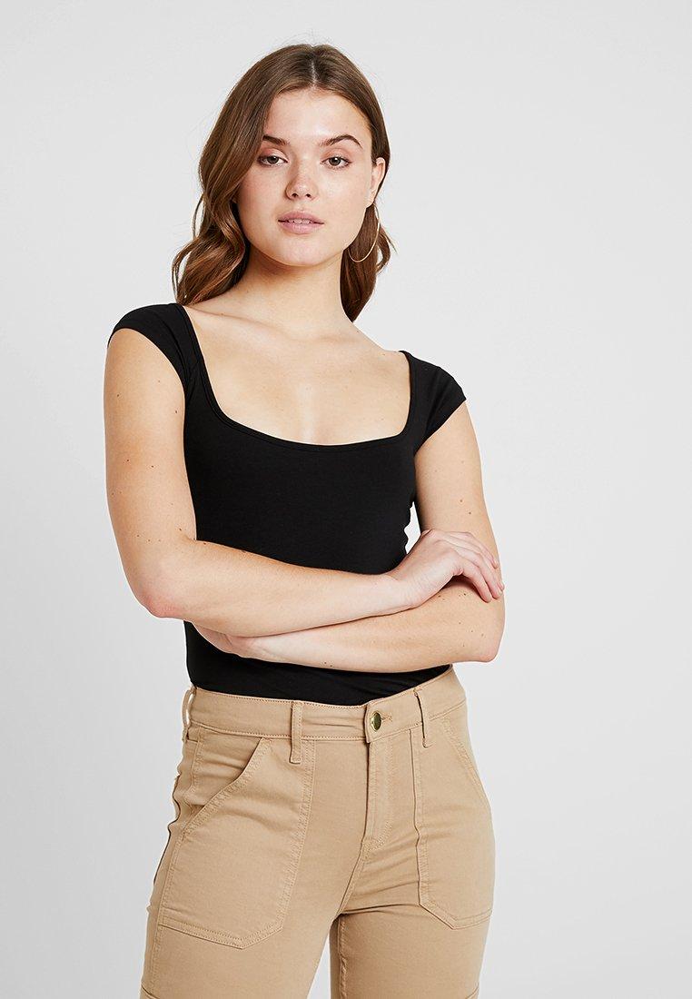 Weekday - TAI - Print T-shirt - black