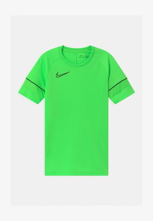 UNISEX - T-shirt z nadrukiem - green strike/black