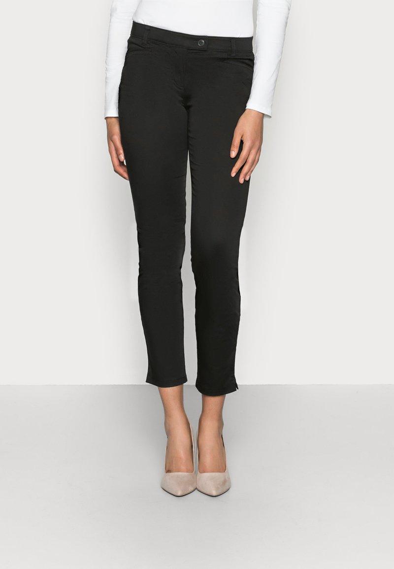 Marc O'Polo - LAXA - Trousers - black