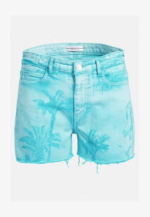 Denim shorts - himmelblau
