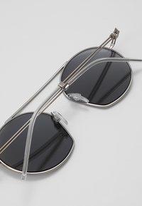Emporio Armani - Sunglasses - matte silver-coloured - 4