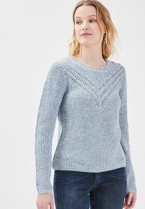 Pullover - bleu clair