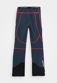 Vaude - PERFORMANCE PANTS - Outdoorové kalhoty - steelblue - 1