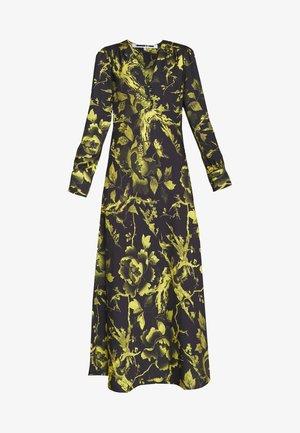 BOUDOIR DRESS - Maxi-jurk - darkest black