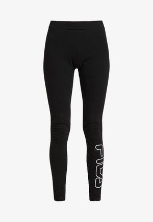 FLEXY - Legginsy - black
