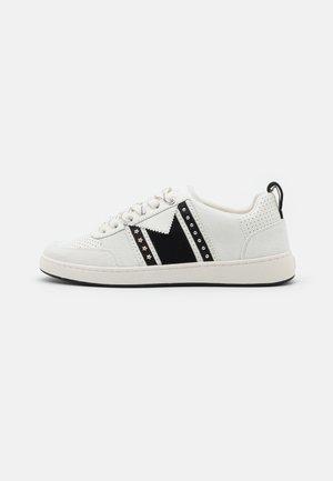 120FURIOUS - Baskets basses - noir/blanc