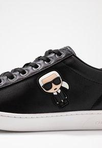 KARL LAGERFELD - KUPSOLE IKONIC LACE - Sneaker low - black - 2