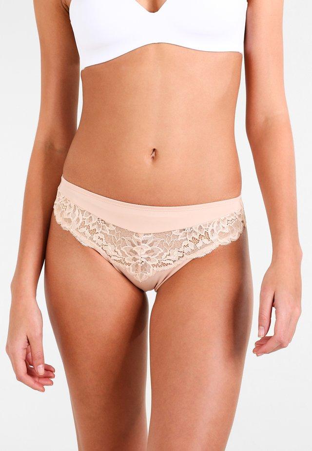 AMOURETTE CHARM TAI - Kalhotky - neutral beige