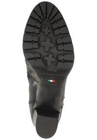 NeroGiardini - Lace-up ankle boots - black bk 100 - 4