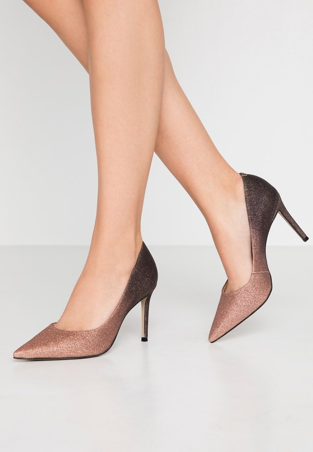 ALISON - High heels - bronze glitter