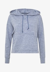 Nike Performance - YOGA HOODIE - Camiseta de manga larga - diffused blue - 3