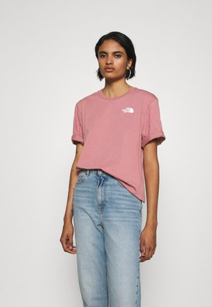 SIMPLE DOME - Basic T-shirt - mesa rose