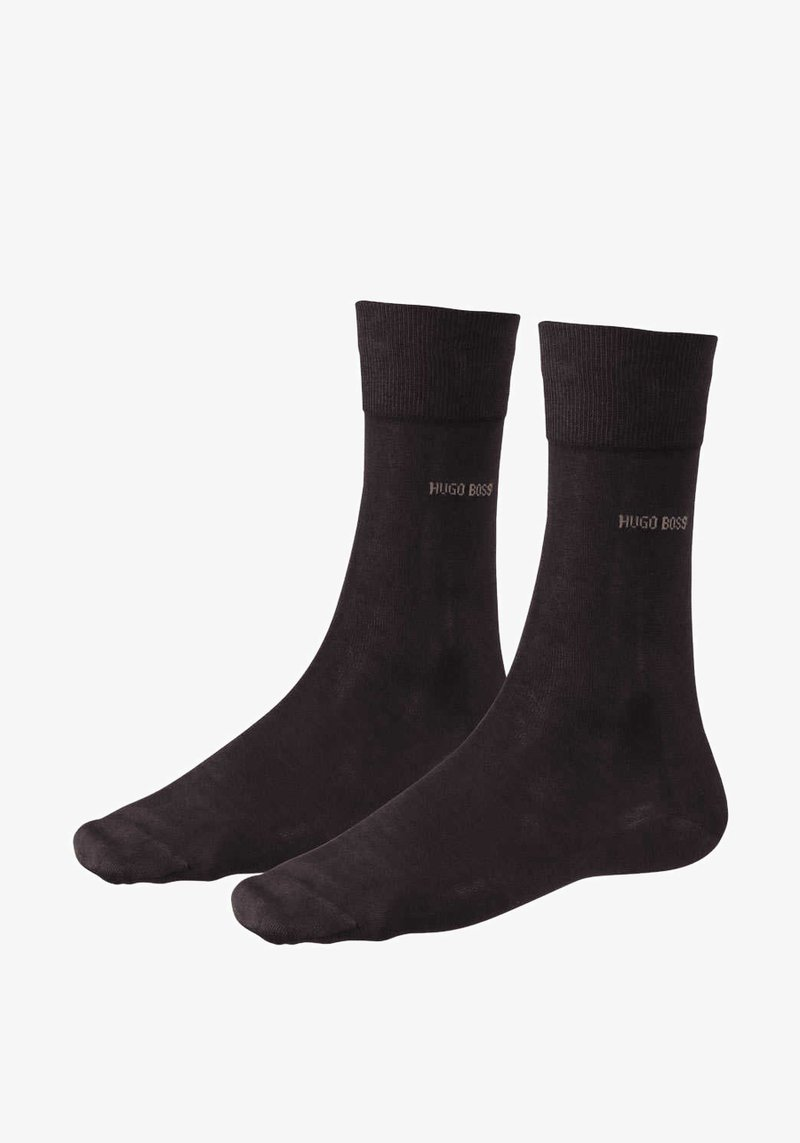 BOSS - GEORGE RS MERCERISIERTE  - Socken - braun