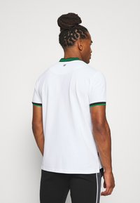 11 DEGREES - BASEBALL COLLAR - T-shirt print - white - 2