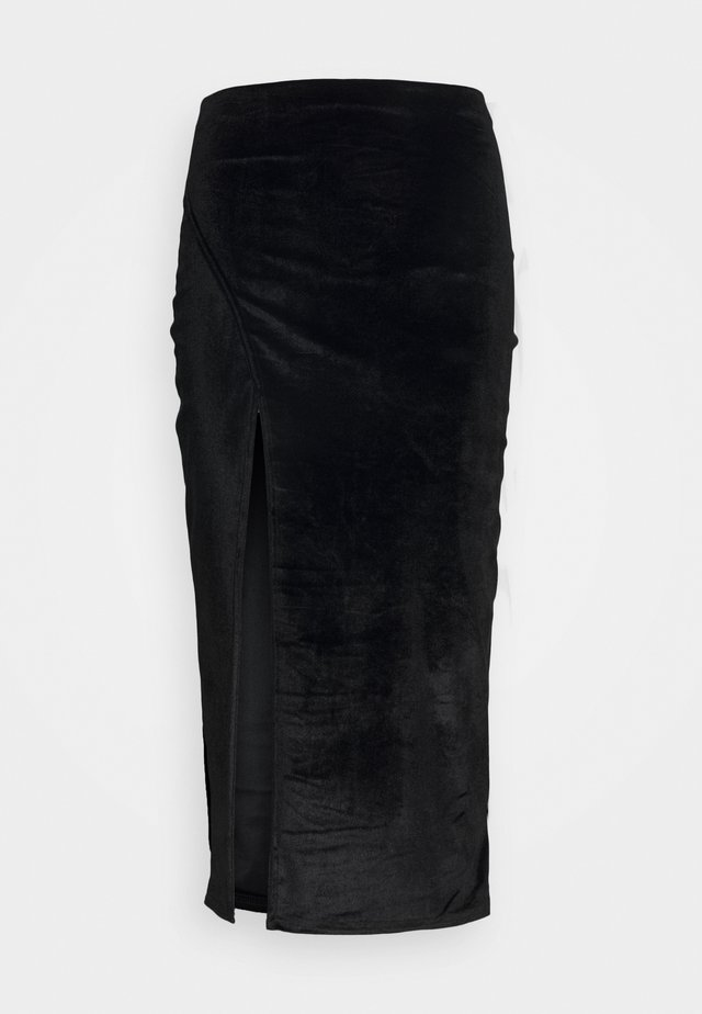 LADIES SKIRT  - Kokerrok - black