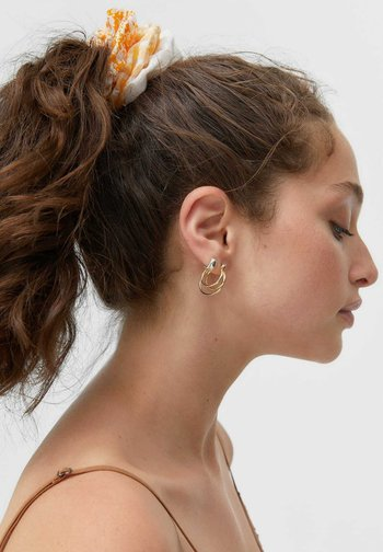 3ER-SET - Hair styling accessory - gold