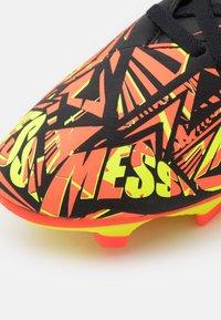 adidas Performance - NEMEZIZ MESSI .4 FXG - Moulded stud football boots - solar red/solar yellow/core black - 5