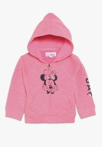 GAP - MINNIE MOUSE TODDLER GIRL - Sudadera con cremallera - pink light - 0