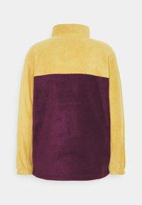 Obey Clothing - EULOGY MOCK NECK ZIP - Fleece jumper - almond - 1