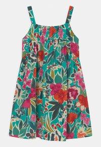 Chi Chi Girls - GIRLS SLEEVELES FLORAL PRINT DAY DRESS - Denní šaty - multi-coloured - 1