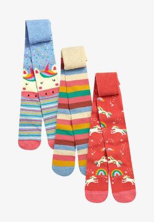 3 PACK UNICORN CHARACTER - Over-the-knee socks - multi coloured