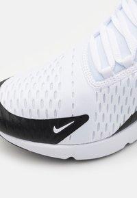 Nike Sportswear - AIR MAX 270 - Sneakers laag - white/signal blue/black - 5