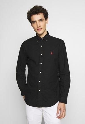 OXFORD - Shirt - polo black